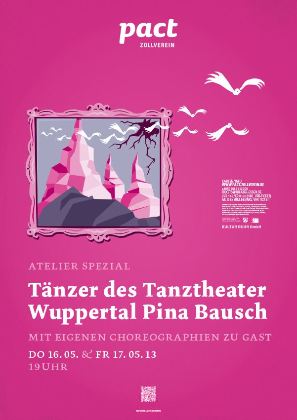 """Atelier Spezial"" with Tanzer des ""Tanztheater Wuppertal Pina Bausch"" – Music by Luca D'Alberto and others"