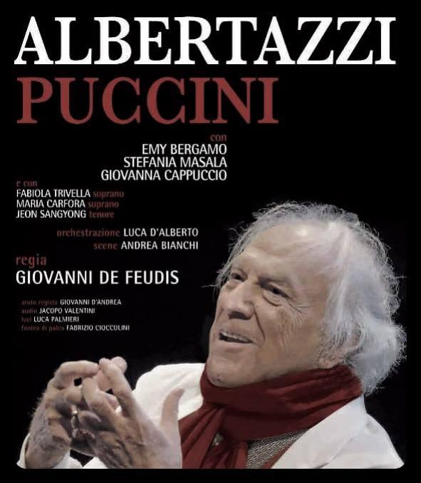 GIACOMO PUCCINI – Giorgio Albertazzi-  Orchestration and Music by Luca D'Alberto